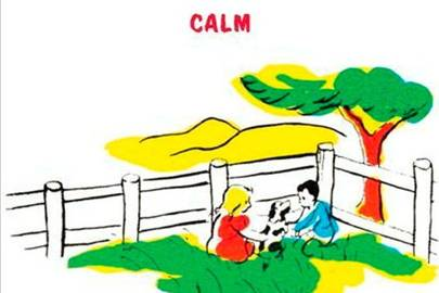 'Calm', from My First Dictionary