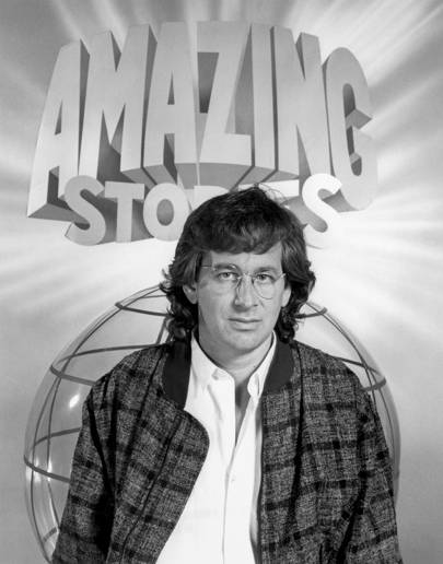 Stephen Spielberg in 1985, Amazing Stories promo