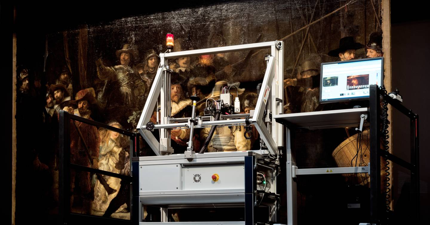 Hidden for centuries, Rembrandt's secrets are finally being revealed