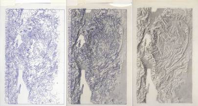 CIA terrain process photos