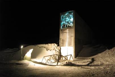 Doomsday vault - Svalbard Arctic seed bank