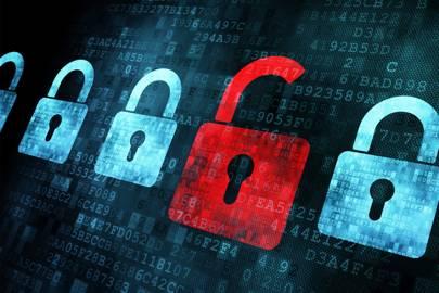 HTTPS online security open lock