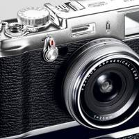 Fujifilm X100 D-SLR camera