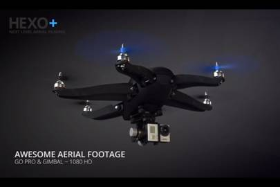 Extreme sports drone follows you for gnarly aerial filming