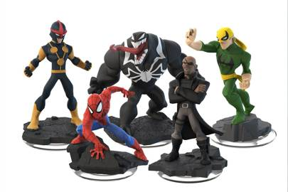 Marvel's Disney Infinity NFC character line-up