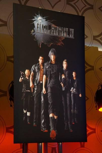 Final Fantasy XV poster