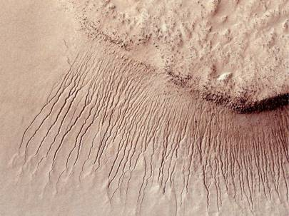 True Gullies on Mars