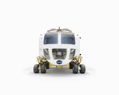The front of the Space Exploration Vehicle, surface version