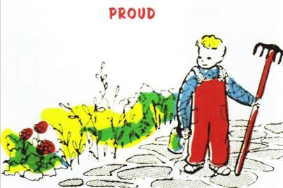 'Proud', from My First Dictionary