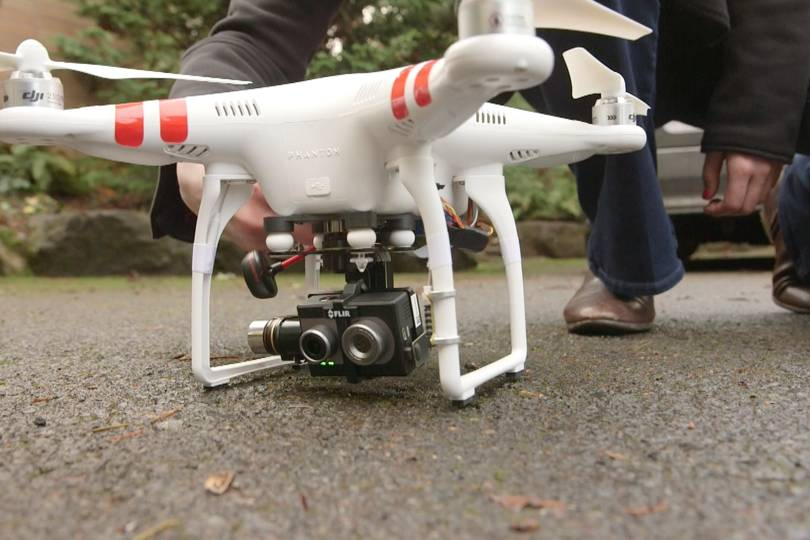 Drones Are Getting Flir S Thermal Cameras Wired Uk