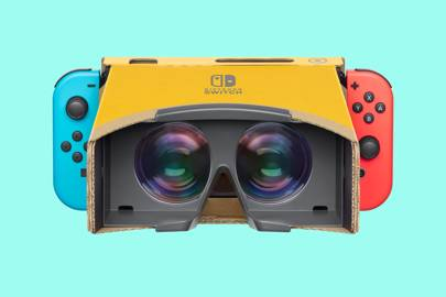Nintendo Labo VR is a brilliantly basic virtual reality experience