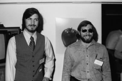 Jobs and Wozniak unveil the Apple II at West Cost Computer Faire in 1976