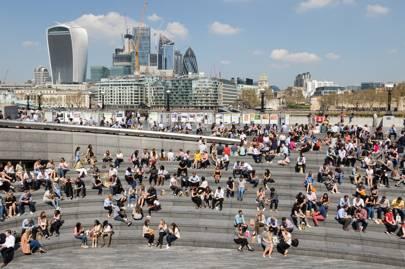 伦敦最热的地方对汗流浃背的办公室来说是个坏消息