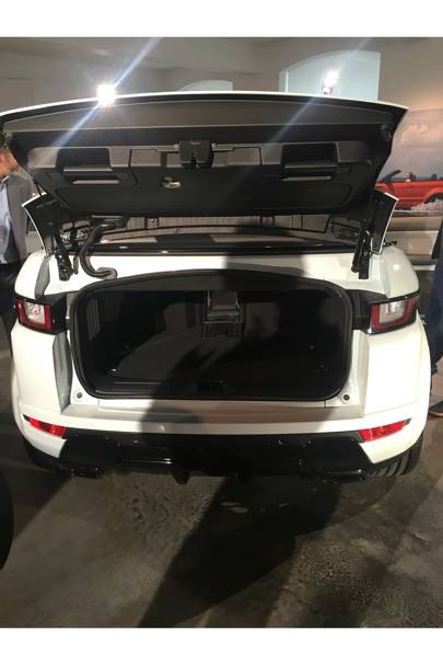 First Look Range Rover Evoque Convertible Wired Uk