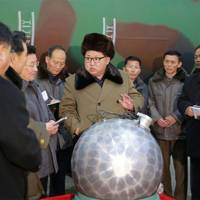 Kim Jong-un says North Korea has miniaturised nuclear warheads