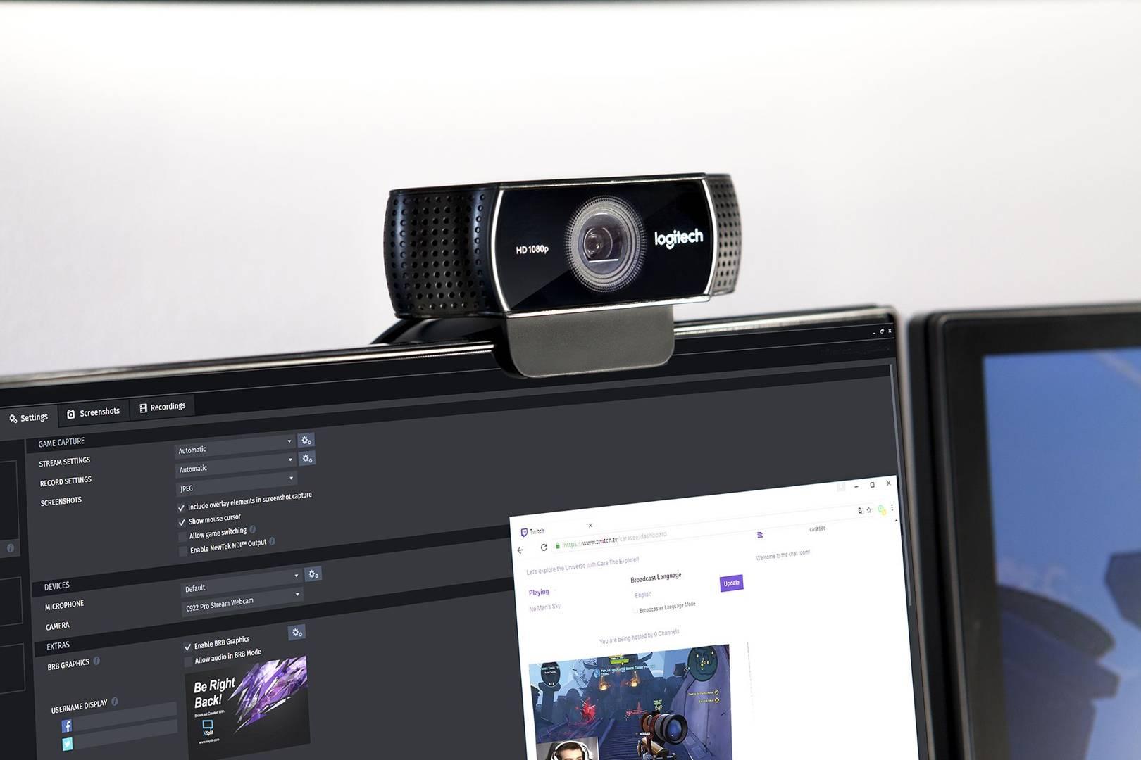 Adult webcam broadcast