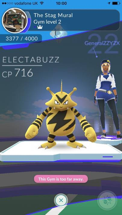 Niantic Pokemon Go gym
