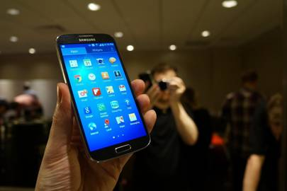 The Galaxy S4 is far and away the most powerful smartphone we've yet seen
