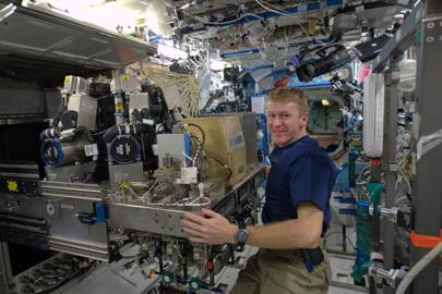 Tim Peake: fire in space