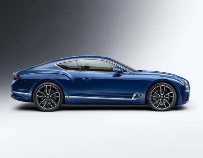 Bentley Continental GT Sports Sleek New Look And EXP 10 Cues