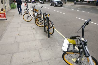 ODear, oBike: Dockless bike startup's London launch doesn't go as planned