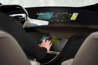 The HoliActive Touch system will generate a holographic, full-colour display in the interior of the car