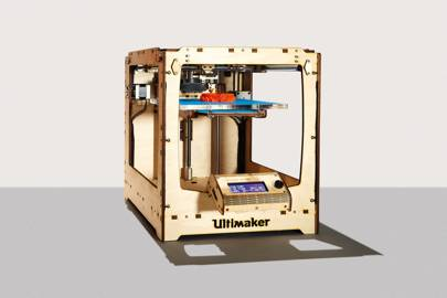 The Ultimaker is heralded as one of the fastest and highest-resolution desktop printers