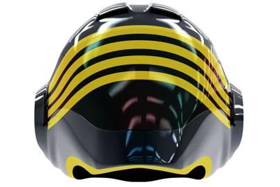Del Rosario Corse Nero helmet