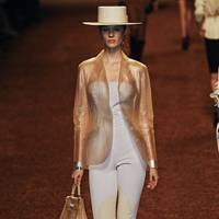 Hermes transparent leather, Spring/Summer 2011
