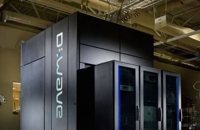Google's D-Wave supercomputer