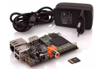 The HummingBoard computer packs a 1GHz processor and Micro SD card storage solutions