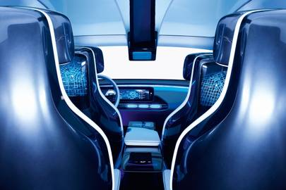 The Generation EQ concept car previews Mercedes' new range