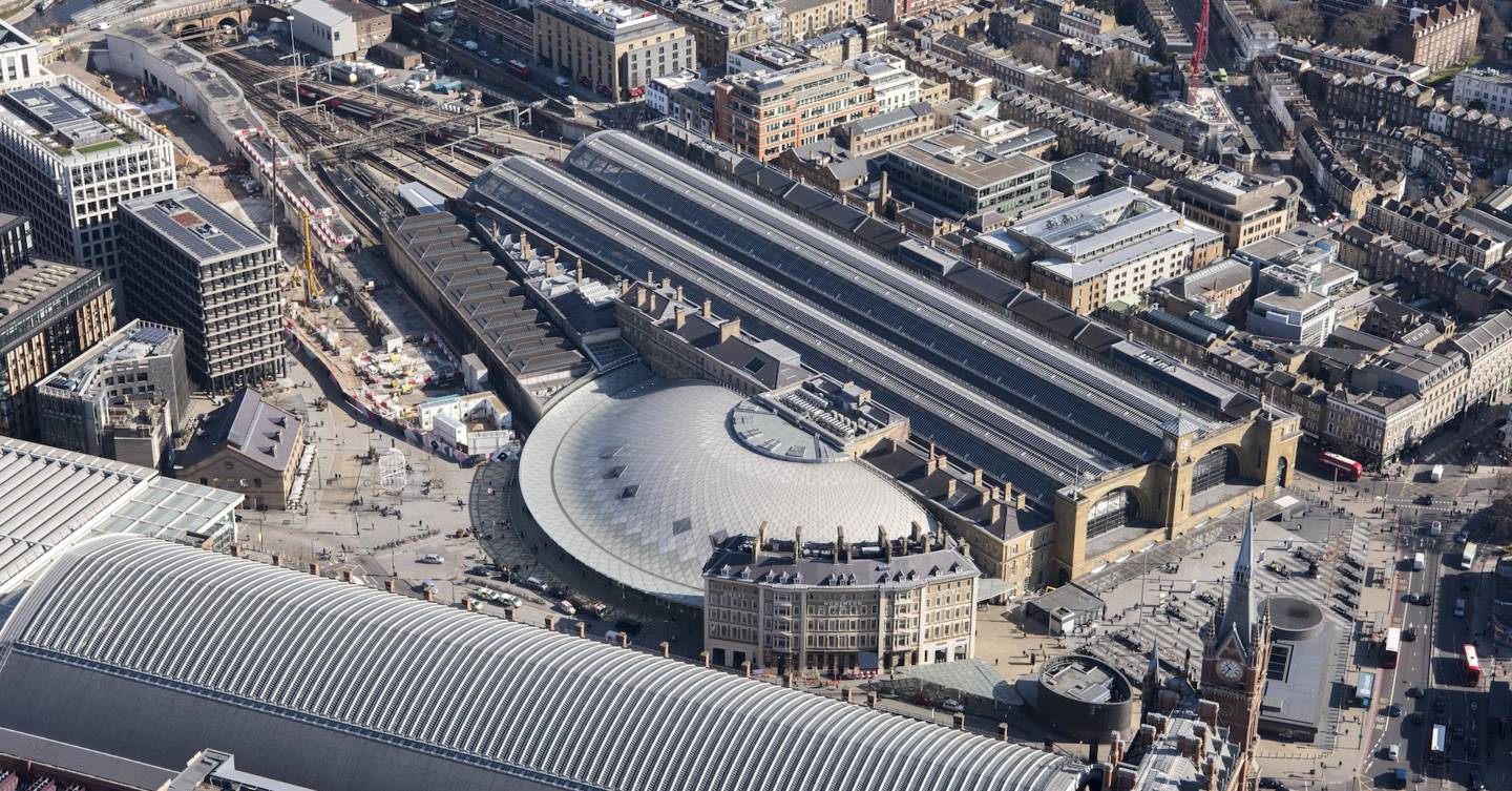 As Facebook and Google avoid the office, King's Cross is desolate