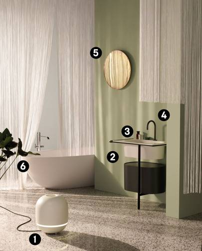 How to turn your bathroom into an oasis of relaxing, chic design