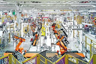 A closer look at BMW's production plant