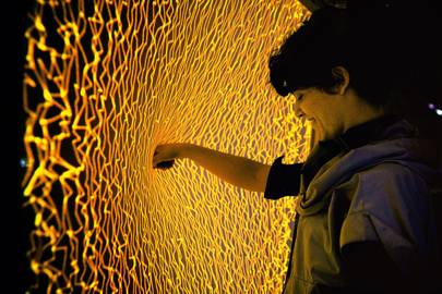 Firewall: a new audiovisual instrument built from a Kinect and Lycra