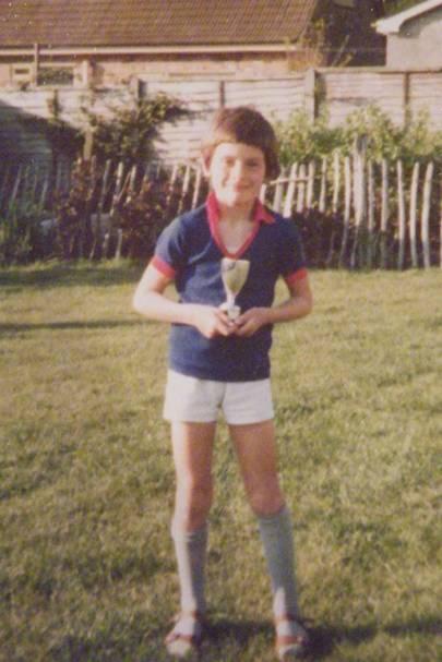 Matt Eagles as a young boy