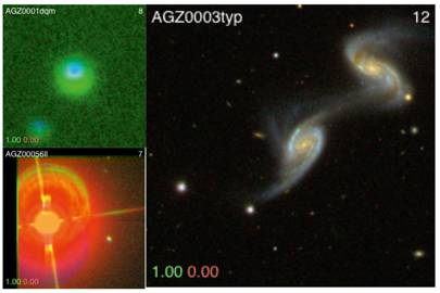Zooniverse's Galaxy Zoo uses the crowd to categorise deep-space objects