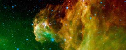 Young Stars Emerge from Orion Head