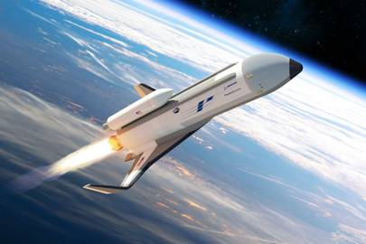 An artist's impression of Boeing's 'Phantom Express' XS-1 hypersonic jet