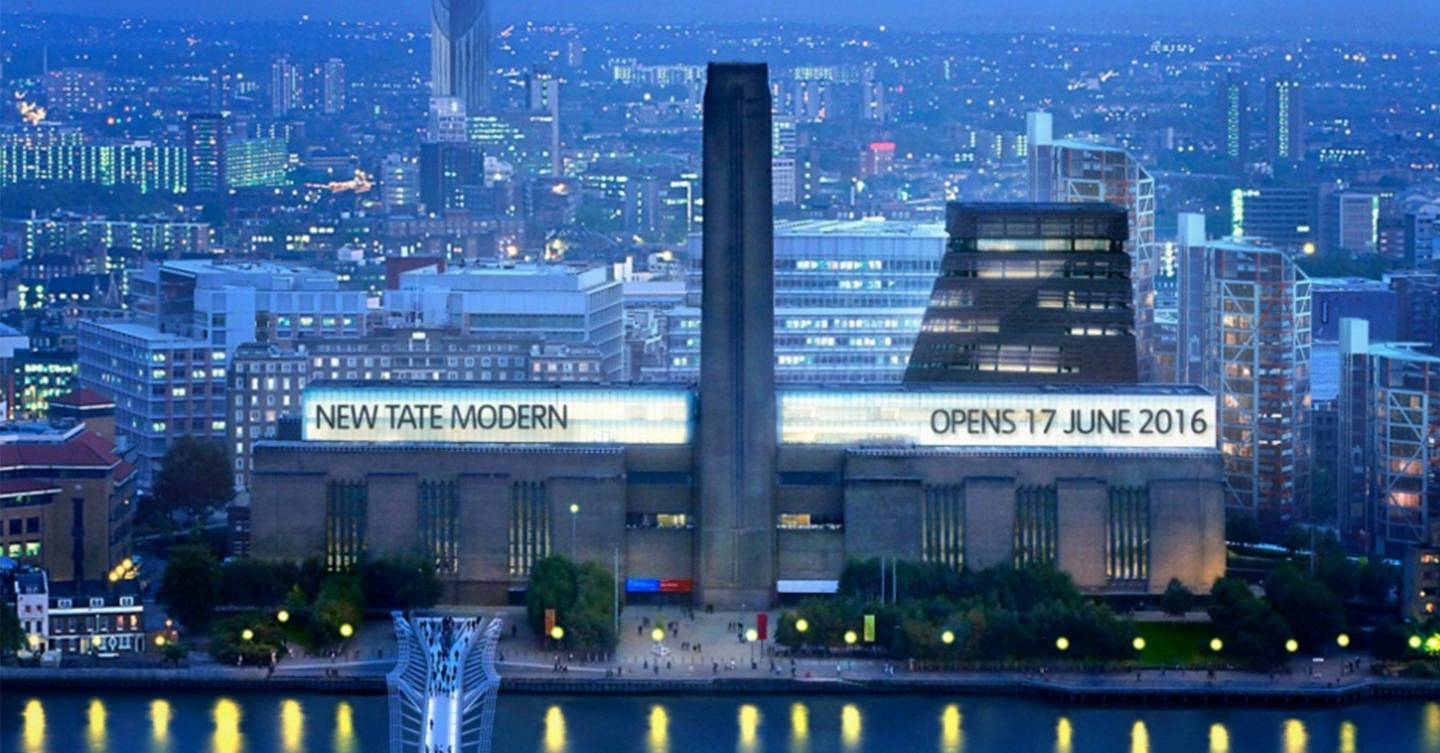 Tate Modern: 36% of artists on display at redesigned ...
