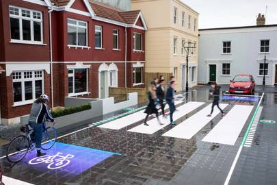 This high-tech zebra crossing could save the lives of smartphone-gazing pedestrians