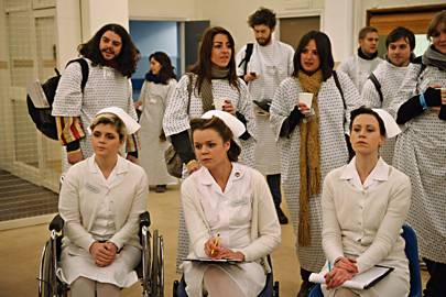 "One Flew Over the Cuckoo's Nest: November 2010. Attendees were admitted to a psychiatric hospital (the Princess Louise Hospital) and ""treated""."