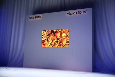 Samsung 75-inch MicroLED 4K TV