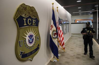 US Immigration and Customs Enforcement (ICE) insignia