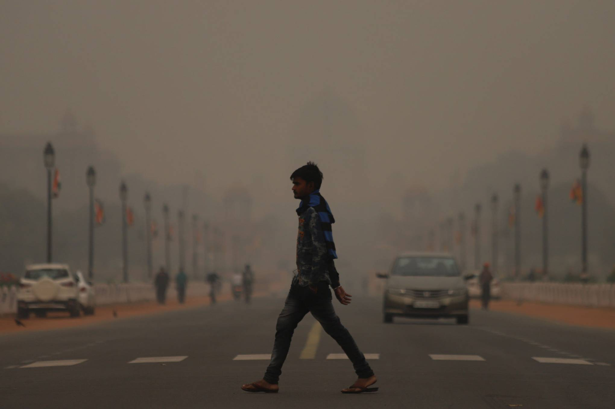 Delhi's massive fog problem is the visual climate wakeup call we need