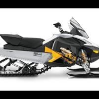 Smooth-riding snow mobile