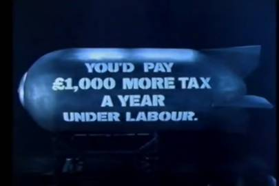 Conservative party political broadcast, 1992