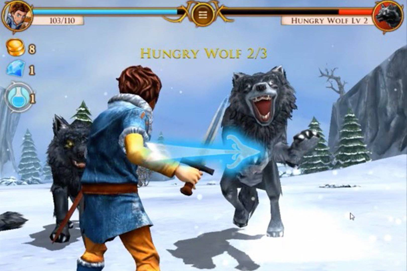 beast quest brings a touch of zelda to ios and android