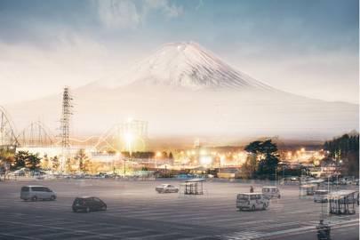 Breathtaking shots of Mount Fuji make it look like 18th Century works of art